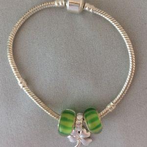 Jewelry - Clover Charm Bracelet
